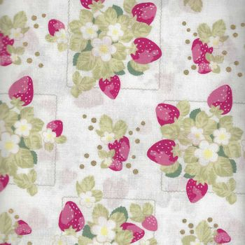 La Conner by Lecien Fabrics TL3154320 Strawberry Patch Vanilla