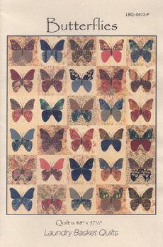 Laundry Basket Quilts Butterflies Quilt Pattern