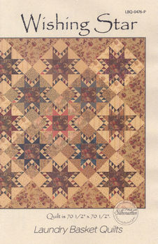 Laundry Basket Quilts Wishing Star Quilt Pattern