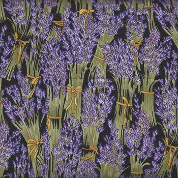 Lavender Bunches from Nutex Fabrics 85110