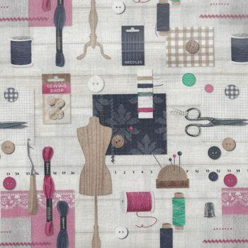 Le Quilt Stof France Couture1 Color Multi QU5703001DP