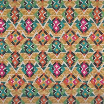 Le Quilt Stof France Sunfluo3  87335976 Colour Multi