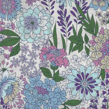 Lecien Memoire a Paris Floral Lawn 41087 Colour 110 White