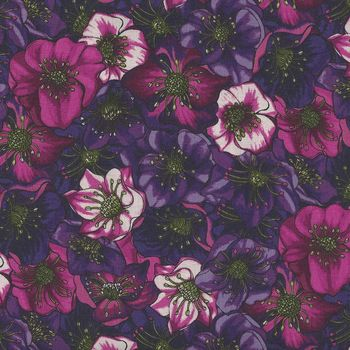 Lenten Rose from Clothworks Y2279 Colour 117