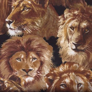 Lions from Exclusively Quilters