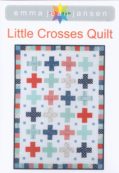 Little Crosses Quilt by Emma Jean Jansen