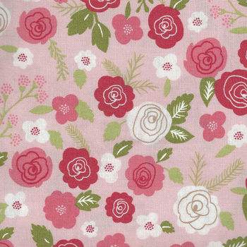 Lollipop Garden by Lella Boutique for Moda Fabric M508012 Colour Peach