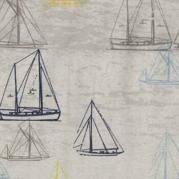 Looking For Sea Life by Stoffabrics MSD 19026 4501 140 Beach Boat