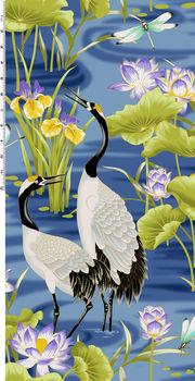 Lotus In Springtime for Kona Bay Fabrics Design LOTU10