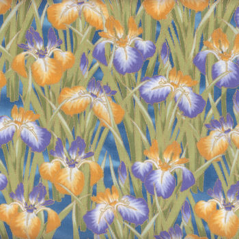 Lotus In Springtime for Kona Bay Fabrics Design LOTU14