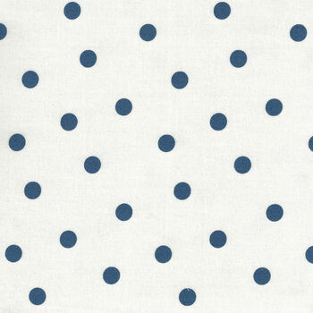 Mackinac Island by Minick and Simpson for Moda Fabrics M1489611 NavyWhite Spot