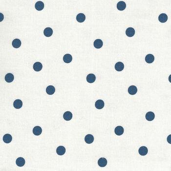 Mackinac Island by Minick and Simpson for Moda Fabrics M1489611 NavyWhite Spot
