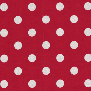 Mackinac Island by Minick and Simpson for Moda Fabrics M1489620 RedWhite Spot