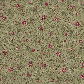 Marches De Noel by 3 Sisters for Moda Fabrics M4423713 GreenRed