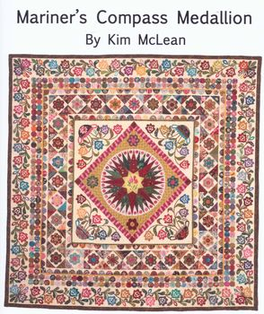 Marinerand39s Compass Medallion Quilt Pattern from Kim McLean