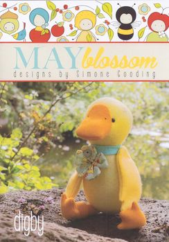 May Blossom Felt Toy Digby the Duck