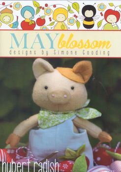 May Blossom Felt Toy Hubert Radish
