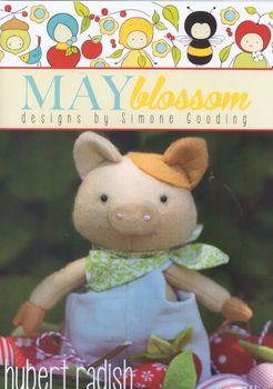 May Blossom Felt Toy Hubert Radish