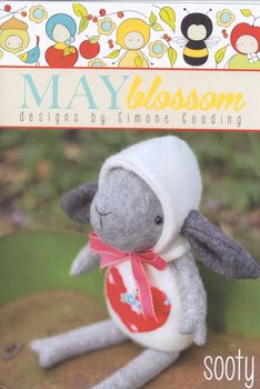 May Blossom Felt Toy Lamb Sooty