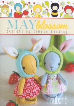 May Blossom Felt Toy Rhubarb