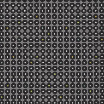Me + You Grafic for Hoffman Fabrics Charcoal HP4272 055