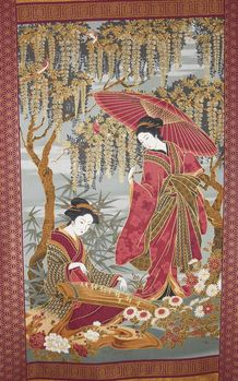 Mikado Japanese Panel from Northcott