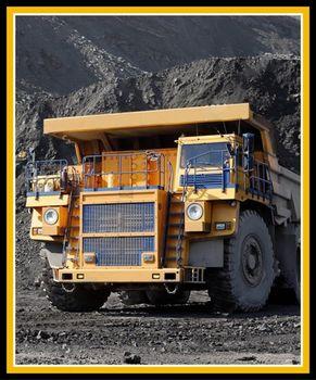 Mining Truck Digital Panel by Kennard and Kennard 35 x 44 71061