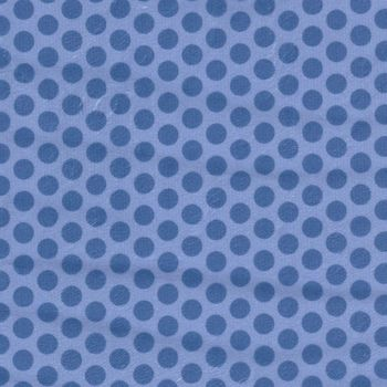 Minky 2Tone Dots White From Fabrics Inc Colour RoyalBlue