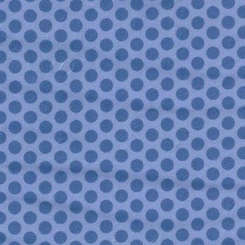 Minky 2Tone Dots White From Fabrics Inc Colour RoyalBlue
