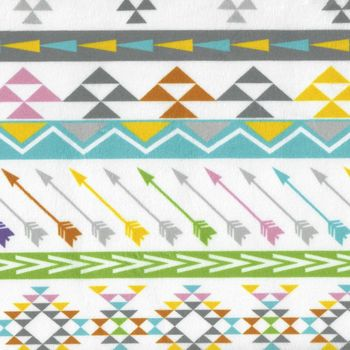 Minky Peruvian Stripe Wide From EZ Fabrics Inc Colour Multi