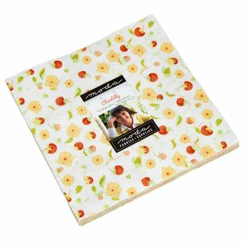 Moda Fabric Precuts Chantilly by Fig Tree and Co Layer Cake 20340LC 10 Squares x 42