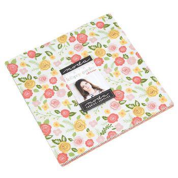 Moda Fabric Precuts Lollipop Garden by Lella Boutique Layer Cake 5080LC 10squares x 42
