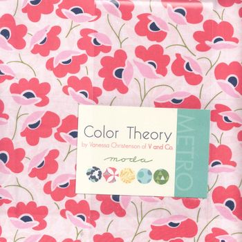 Moda Layer Cake 10+quot Squares x 42 Color Theory V and Co Patchwork and Quilti