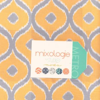 Moda Layer Cake 10andquotSquares x 42 Mixologie by Studio M Patchwork and Quilting Fabric