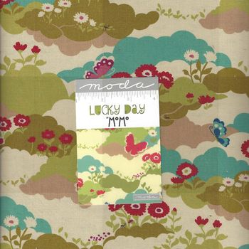 Moda Lucky Day Layer Cake Precut Squares 10andquot x 42 by MoMo 33290LC