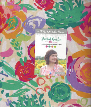 Moda Painted Garden Layer Cake Precut Squares 10+quot x 42 by Crystal Manning 1