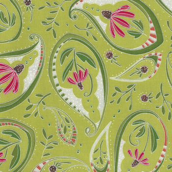 Moda Painted Meadow by Robin Pickens M48661 Colour 1 Green