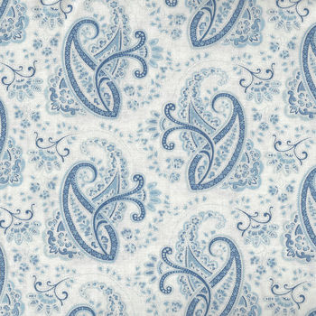 Moda Regency Ballycastle Chintz M4232516 WhiteBlue