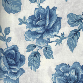 Moda Regency Blues M4230117 WhiteBlue