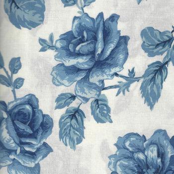 Moda Regency Blues M4230117 WhiteBlue