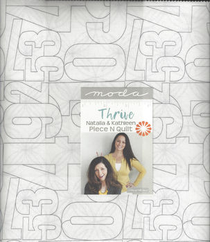 Moda Thrive Layer Cake Precut Squares 10andquot x 42 by Piece and Quilt 10900LC