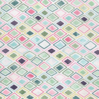 Moda andquotFresh Cutandquot Cotton Quilting Fabric by Basic Grey