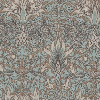 Morris And Co Merton Pattern Snakehead Color Aqua PWWM010Aquax