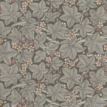 Morris and Co Granada for Free Spirit PWWM056Charcoal