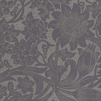 Morris and Co Mineral  from Free Spirit PWWM 036 Color Slate Pure Sunflower