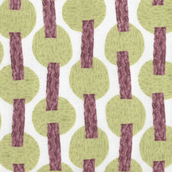 Murano By Stoffabrics Denmark Murano Trees MCS 16066 Lime Green and Brown