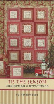 Natalie Bird Book andquotTis The Seasonandquot Christmas Stitchings From The Birdhouse