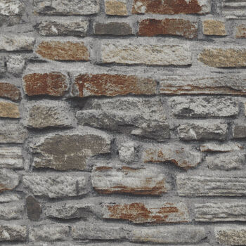 Naturescapes by Deborah Edwards For Northcott Fabrics 21388 Color 92 Rock Wall