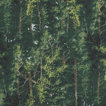 Naturescapes by Deborah Edwards For Northcott Fabrics 21408 Color 76 Greens