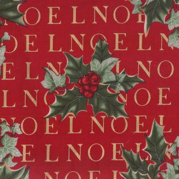 Noel Christmas Fabric by Hoffman M14988A